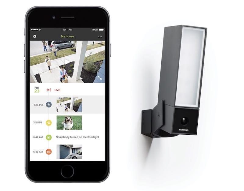 Netatmo presence e videocamera outdoor per la sicurezza - Videocamera di sicurezza ...